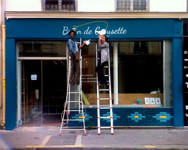 20 Juillet 2012 - Ouverture de Brin de Cousette Paris