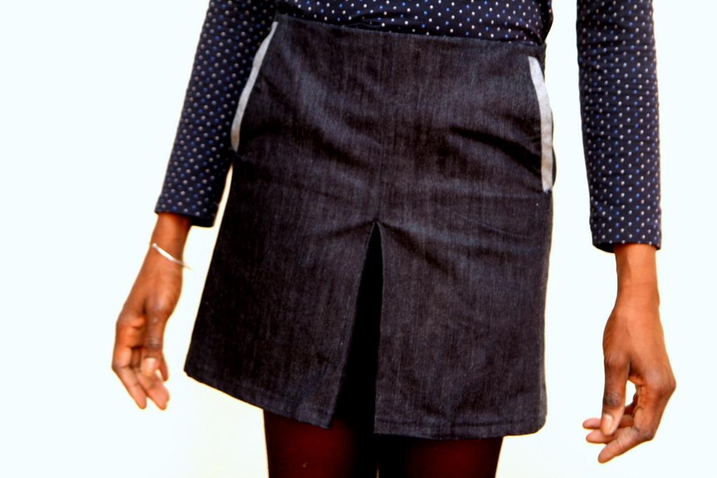 Jupe, jean et poches