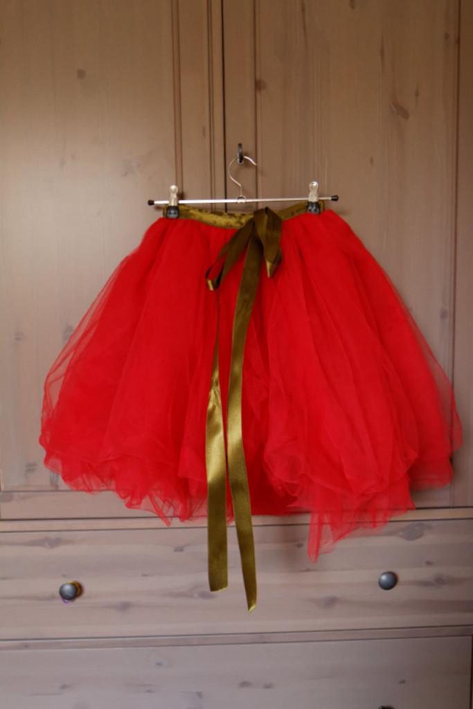 Le tutu rouge de princesse zolie